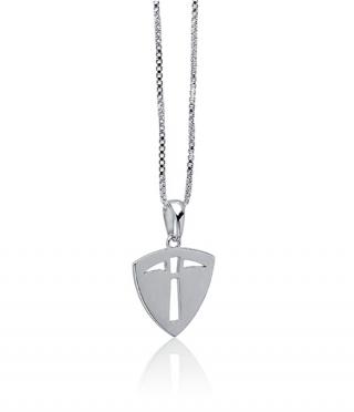 "Prospector | Modest | 18"" Silver Chain"