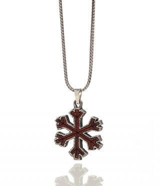 POW Snowflake | Cross Grain Bloodwood